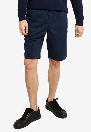 SUPERDRY navy Worldwide Chino Shorts 74191AA0A796A8GS_1