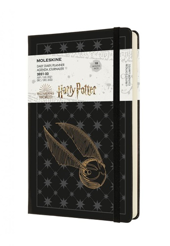 Moleskine black Moleskine Planners 18 Months Limited Edition Daily Hard H Potter  Large 25EE9HL3A1A3ADGS_1