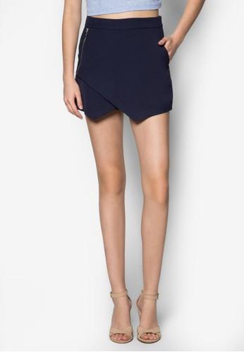 素面裹式褲裙、 服飾、 長褲及內搭褲ZALORA素面裹式褲裙最新折價