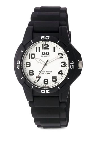 Q&Q VQ84J001Y 數esprit門市地址字休閒手錶, 錶類, 其它錶帶