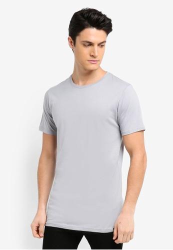 Factorie 灰色 素色短袖T恤 78D69AA45AA4C0GS_1