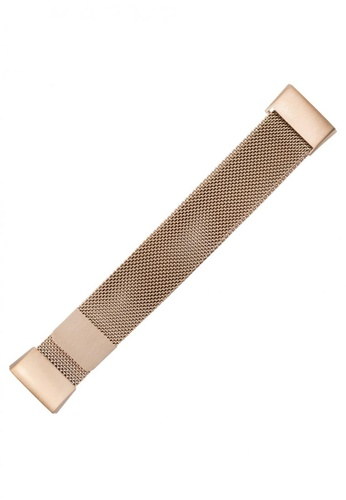 WITHit WITHit Stainless Steel Band for Fitbit Charge (series 4/3) - Gold C0B00AC0743137GS_1
