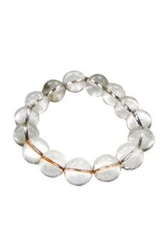 Manmico Feng Shui Lucky Charms Crystal Clear Quartz Bracelet