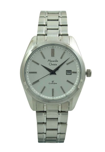 Alexandre Christie silver Alexandre Christie Jam Tangan Wanita - Silver White - Stainless Steel - 8514 LDBSSSL AL709AC66ISFID_1