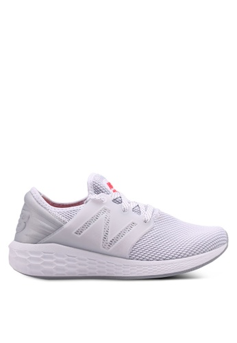 New Balance white CRUZ V2 Reflective Future Sport Shoes 4E8A3SHF7A29A0GS_1