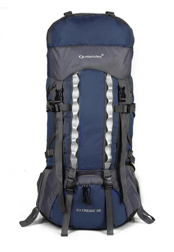 d30d09f568c2 Outlander Extreme 80 L High Quality Outdoor Recreation Camping and Hiking  Backpack