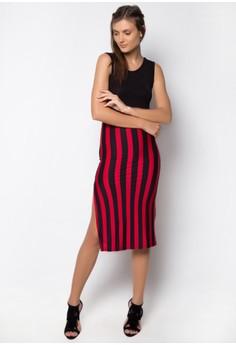 Pipe Dress Stripes