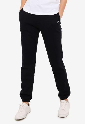 Abercrombie & Fitch black Monogram Classic Pants E02DBAA97051CAGS_1