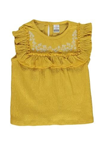LC Waikiki yellow Baby Girl's Cotton Tank Top E40FEKAAEE56B0GS_1