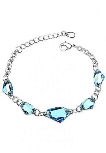 LOVENGIFTS blue LOVENGIFTS You Complete Me Bracelet (Blue) LO429AC92JLRMY_1