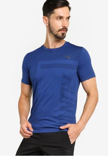 Anta blue Running Short Sleeves Tee C5134AA979CF0AGS_1