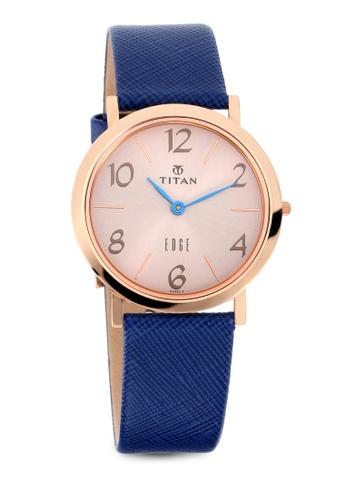 Titan x Naelofar blue Titan x Naelofar, Titan Edge Watch 679WL06 TI758AC0SIL5MY_1