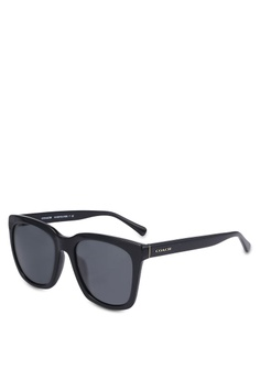 fe6177f203 Coach black Poppy HC8201D Sunglasses CO897GL0RNIWMY 1
