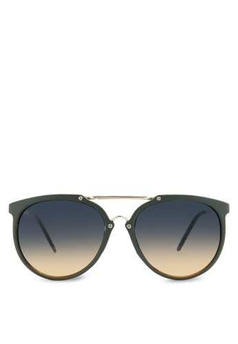JP0217 金屬條太陽眼鏡esprit 京站, 飾品配件, 飾品配件