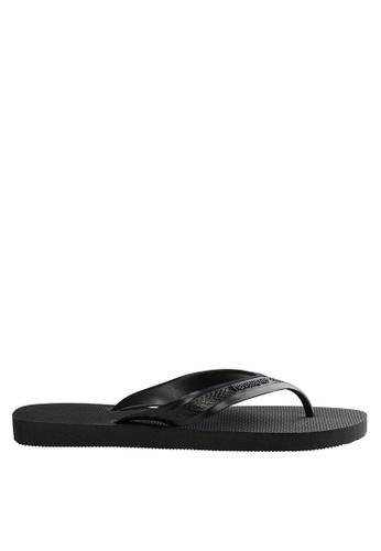 Havaianas black TOP MAX Sandals & Flip Flops 19292SHE94FB01GS_1