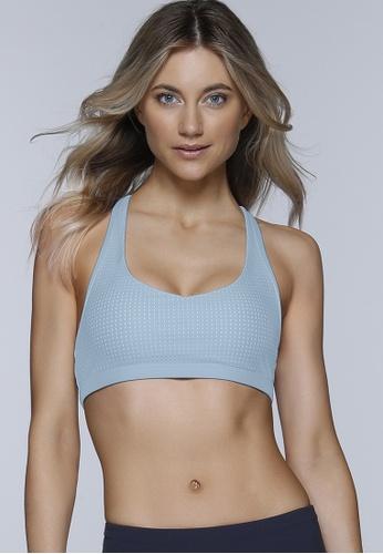 Lorna Jane blue Chic Sports Bra 4E606AA4186419GS_1