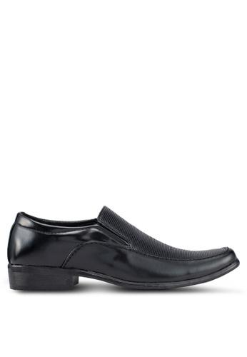 Rocklander black Formal Slip On Shoes 2E8F9SH22D8FADGS_1