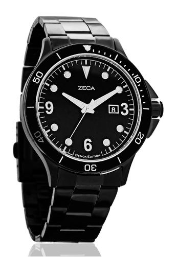 ZECA black Genoa Edition Male Analogue ZE260AC25SYSSG_1