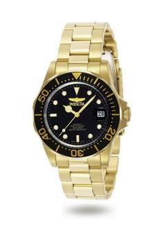 Pro Diver Men 40mm Case Stainless Steel Strap Watch 8929