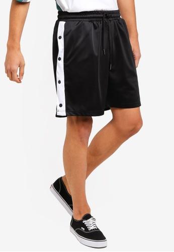 Factorie 黑色 籃球短褲 7D47AAA242BB64GS_1