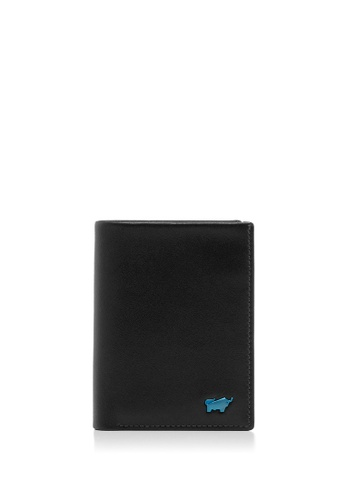 Braun Buffel black NEWNOMAD CENTRE FLAP CARD HOLDER WITH NOTES 46C03AC740A761GS_1