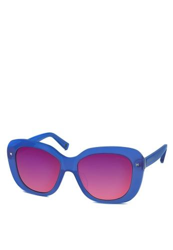 HEX EYEWEAR blue Designer - COCO C. - Sunglasses - Italy Design HE671AC2V1L0HK_1