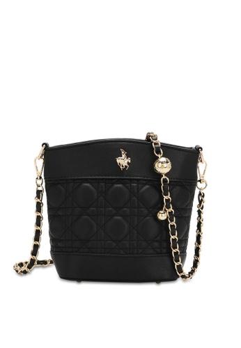 Swiss Polo black Baubles Chain Sling Bag 3627FAC9FAAAE9GS_1