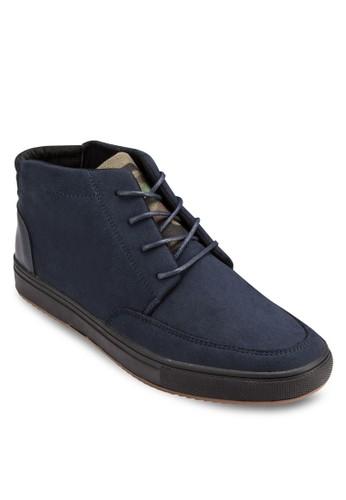 迷彩esprit 中文鞋舌繫帶踝靴, 鞋, 休閒鞋