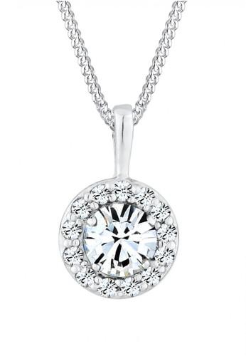 Elli Germany white Perhiasan Wanita Perak Asli - Silver Royal Swarovski® Crystal Putih 0A7A1AC681CE2EGS_1