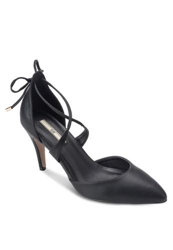 尖頭交叉踝帶esprit台灣門市高跟鞋, 女鞋, 知性女強人