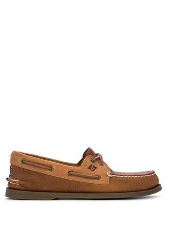 Sperry brown A/O 2-Eye Daytona Boat Shoes F54A3SH7729279GS_1