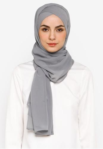 Bokitta grey Steel FreeStyle Hijab 3B110AA7357326GS_1