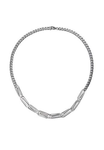 HAPPY FRIDAYS Stylish Paper Clip Stitched Necklaces DWX0707 4BFE8ACDDE20D9GS_1