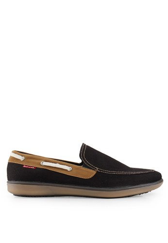 Andretelli black Exeter Casual Shoes AN907SH52EBZID_1