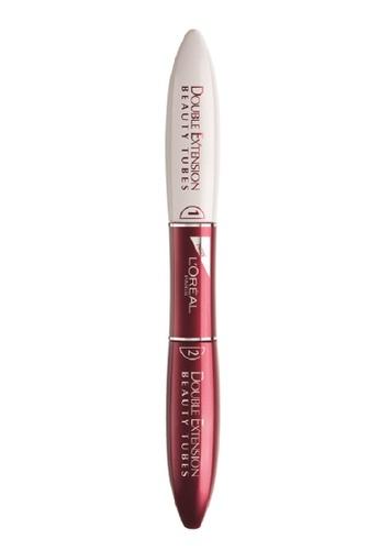 L'Oréal Paris black L'Oreal Double Extension Beauty Tubes Mascara LO618BE69MJYMY_1