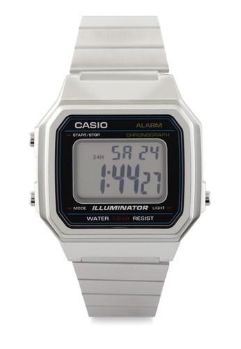 Casio black Unisex Digital Watches B650Wd-1Adf 6DFFEAC873A0C1GS_1
