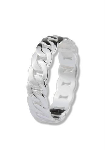 SC Tom Silver silver Men's Ring  - TRM002 SC872AC57FQCPH_1