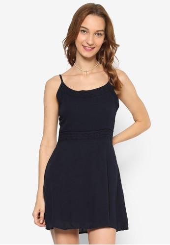 WV esprit taiwanBethany 細肩帶蕾絲洋裝, 服飾, 洋裝