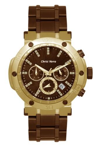 Christ Verra brown Christ Verra Men's Watches CV 52283GD-19 BRN E5F3BAC684B1B5GS_1