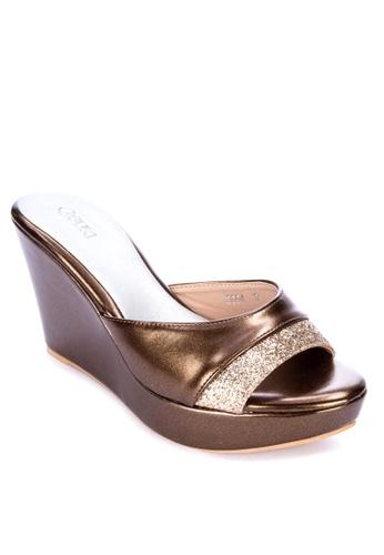 Suki brown High Heeled Sandals E3E51SH59DD907GS_1