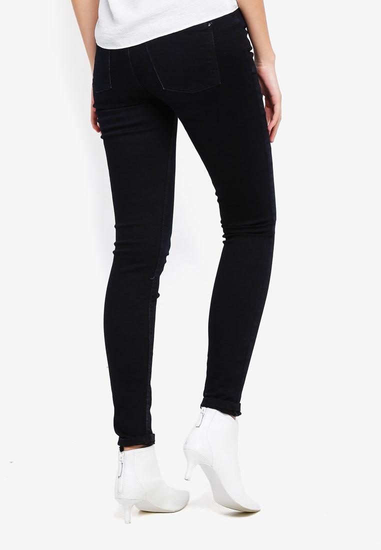 Denim Eva Skinny YONG Blue DE JACQUELINE Dark Jeans Eq0xFFP8