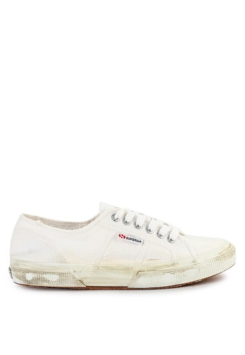 Superga white 2750 - Cotustonewash 13654SHEAA44CFGS_1