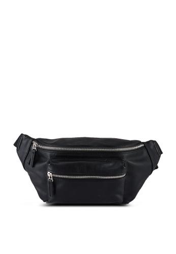 niko and ... black Leather Effect Belt Bag D2032AC512AF9DGS_1
