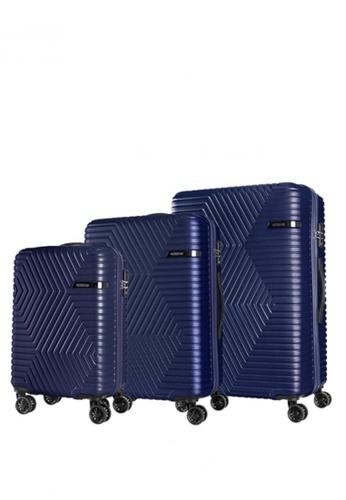 American Tourister blue Ellen 3P Set A Sp55/68/79 T 4CDC6ACDDD9B96GS_1