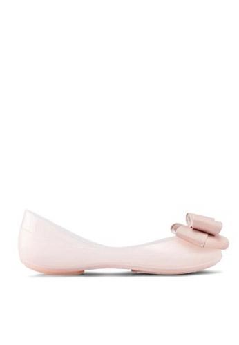 Twenty Eight Shoes Jelly Bow Ballet Flats 658-18 6F15ASH1EEE6D9GS_1