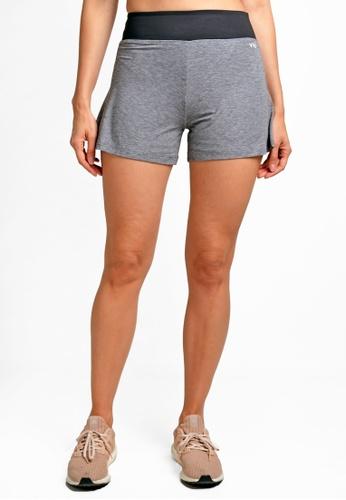 ViQ grey ViQ Loose Shorts 92575AAD950056GS_1