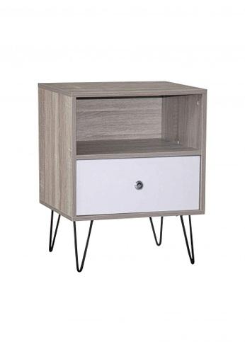 San-Yang Furniture brown Side Table 16E14HL3B2C4D1GS_1