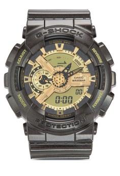 Casio G-Shock GA-110BR-5ADR 雙顯示圓錶