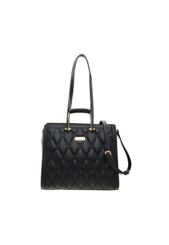 Valentino Creations black Valentino Creations Rozel Shoulder Bag 34FA5AC01910A1GS_1