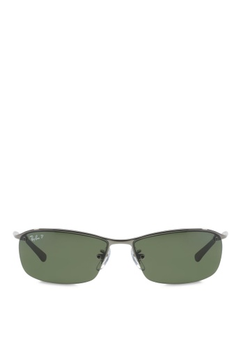 Ray-Ban RB3183 Polarized Sunglasses RA370GL19SBCSG 1 de5bc442bfed